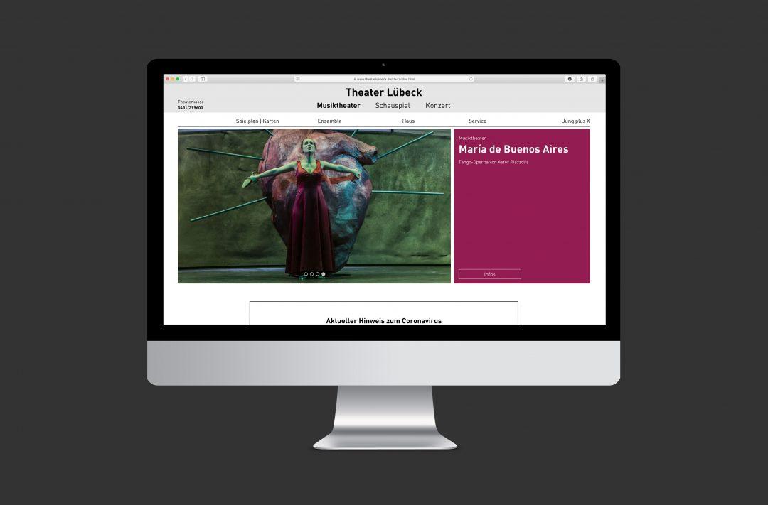 Theater Lübeck | Website