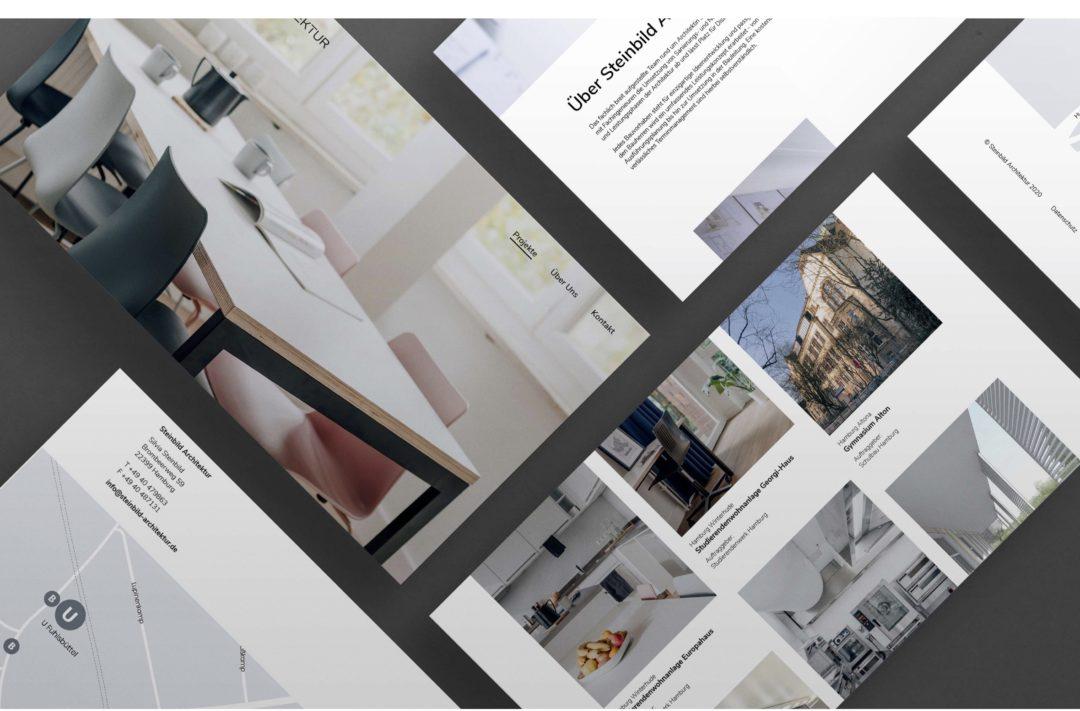 Steinbild Architektur | Corporate Design, Website & Fotografie